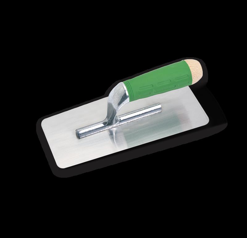 BOLDRINI INOX ERGO+ 55701 Профессиональная стальная кельма для нанесения декоративных покрытий