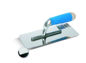 BOLDRINI INOX ERGO+ 55804 Профессиональная зеркально-гладкая кельма для нанесения декоративных покрытий