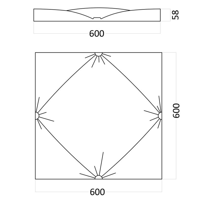 Artpole AMPIR - гипсовые 3D панели
