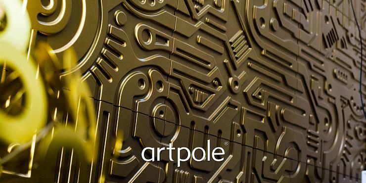 Artpole EX-MACHINA - гипсовые 3D панели