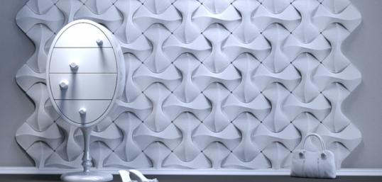"Artpole FLIP - гипсовые 3D панели ""Elementary"""