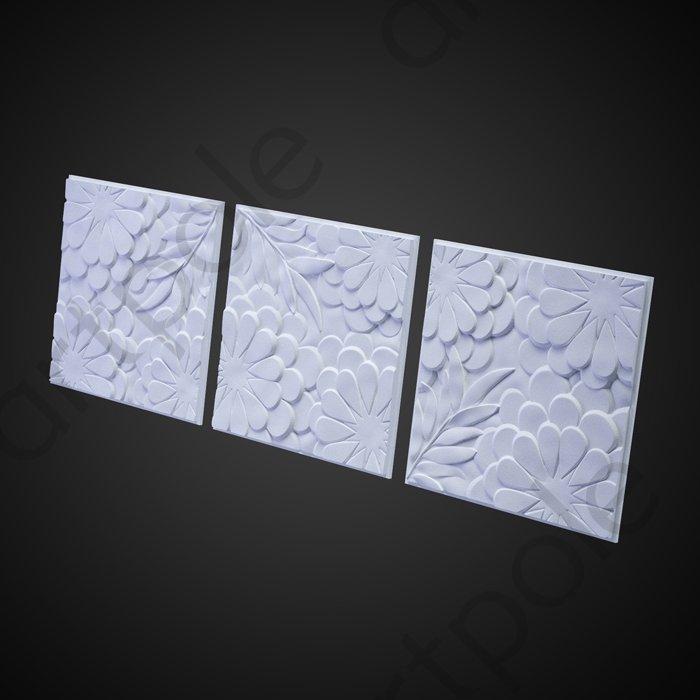 Artpole FLORA - гипсовые 3D панели