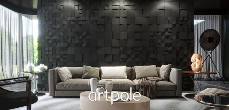 "Artpole KVADRO - гипсовые 3D панели ""Elementary"""