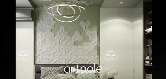 "Artpole MERCURY - гипсовые 3D панели ""Elementary"""