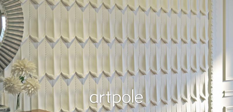 "Artpole PERO - гипсовые 3D панели ""Elementary"""
