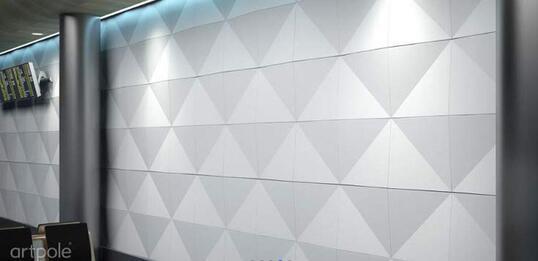 Artpole ROMB - гипсовые 3D панели
