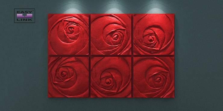 Artpole ROSE Пятый элемент - гипсовые 3D панели