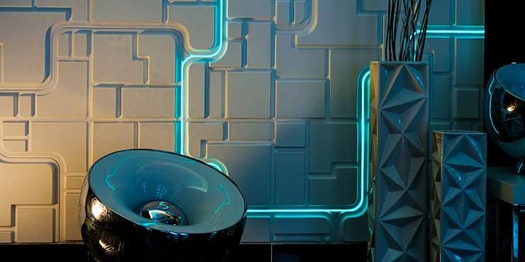 Artpole SPACE - гипсовые 3D панели