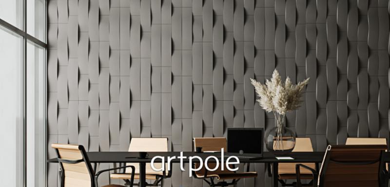 "Artpole STREAM - гипсовые 3D панели ""Elementary"""