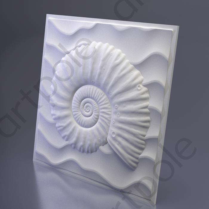 Artpole UNDERWATER - гипсовые 3D панели