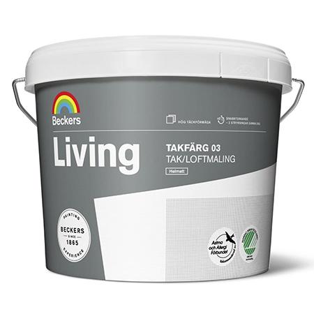 BECKERS LIVING TAKFARG 03 - глубокоматовая быстросохнущая интерьерная краска