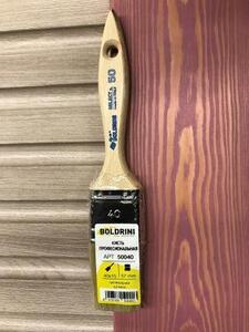 BOLDRINI 50 Pro Brush Кисть профессиональная 40x15 мм. с натуральной щетиной 57 мм.