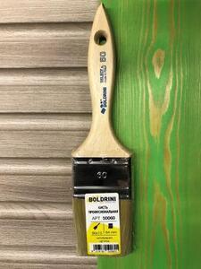 BOLDRINI 50 Pro Brush Кисть профессиональная 60x15 мм. с натуральной щетиной 64 мм.