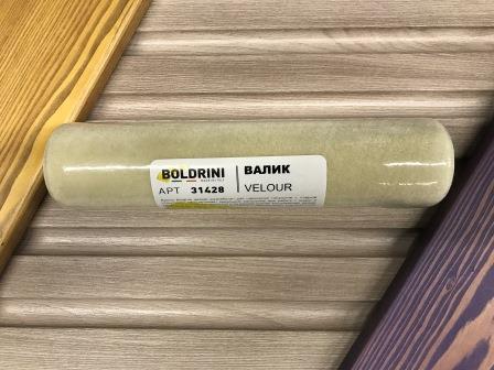 BOLDRINI VELOUR Валик велюровый для каркасного бюгеля, 250 мм.