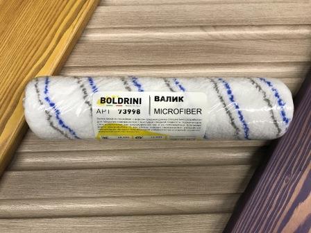 BOLDRINI MICROFIBER Валик из микрофибры средний ворс для каркасного бюгеля, 250 мм.