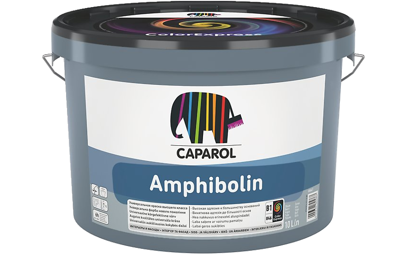 CAPAROL AMPHIBOLIN ELF - матовая универсальная акриловая краска для внутренних и наружных работ