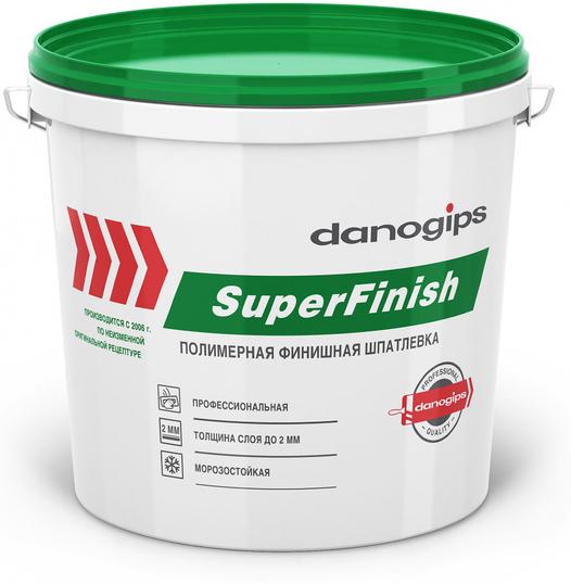 Danogips SuperFinish шпатлевка финишная зелёная крышка Sheetrock/Шитрок