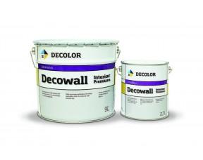 DECOLOR Decowall Interior Premium - высокоукрывистая моющаяся матовая интерьерная краска