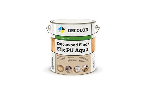 DECOLOR DECOWOOD FLOOR FIX PU Aqua полиуретановая шпатлевка для деревянных полов