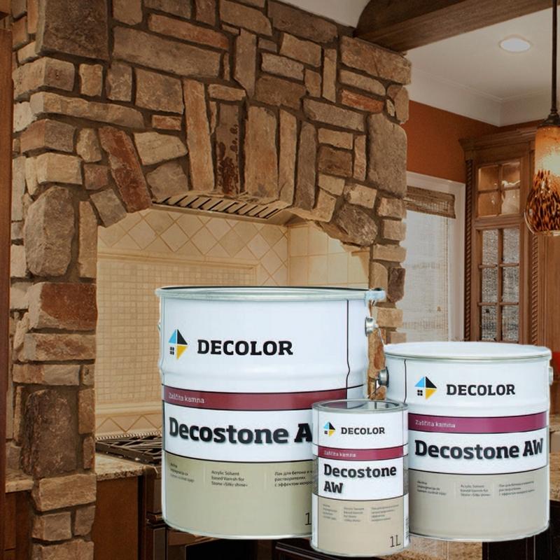 DECOLOR DECOSTONE AW защитный лак-пропитка для камня