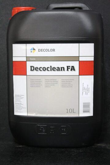 DECOLOR Decoclean FA Деколор Декоклин ФА очиститель-смывка на основе органической кислоты