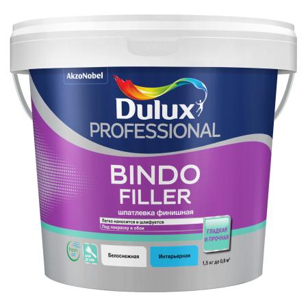 DULUX BINDO FILLER - Финишная шпаклевка под покраску и обои колеруемая