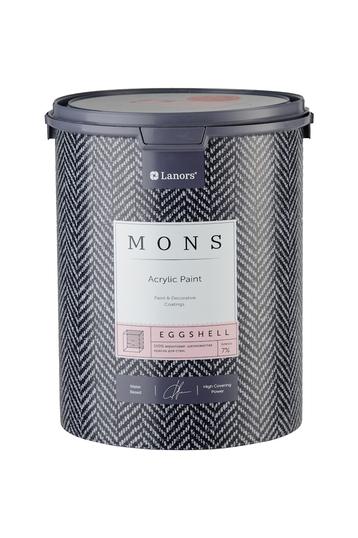MONS EGGSHELL - акриловая шелковисто-матовая дизайнерская краска