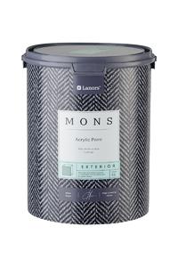 MONS EXTERIOR - универсальная матовая фасадная дизайнерская акриловая краска с красивой гладкой поверхностью