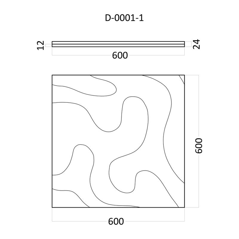 Artpole FOG - гипсовые 3D панели