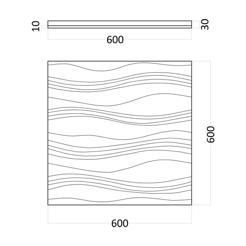 Artpole FORCE - гипсовые 3D панели