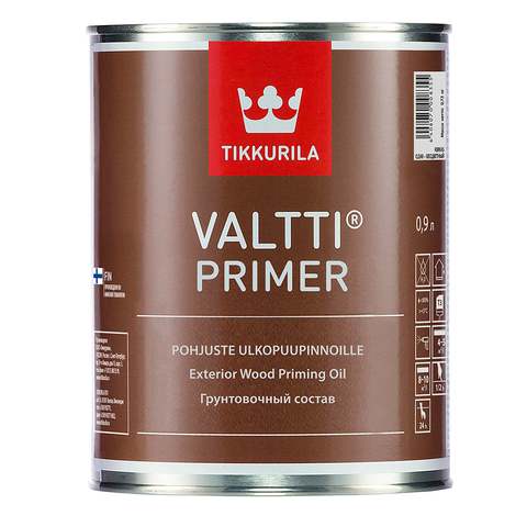 Tikkurila Valtti Primer / Тиккурила Валтти Праймер Грунтовка под антисептик для наружных деревянных поверхностей