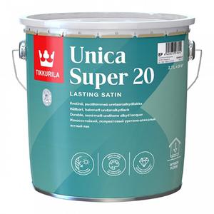 Tikkurila Unica Super 20 / Тиккурила Уника Супер яхтный лак полуматовый
