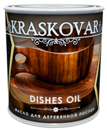 Масло Kraskovar Dishes Oil для деревянной посуды и разделочных досок, палисандр