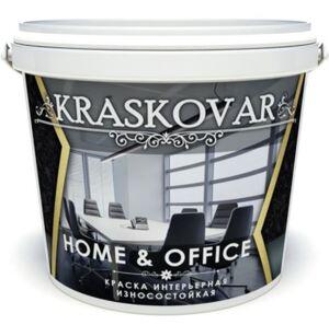 Краска интерьерная Kraskovar HOME & OFFICE Красковар Хоум Офис износостойкая
