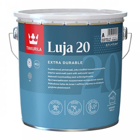 Tikkurila Luja 20 / Тиккурила Луя 20 cпециальная краска, содержащая противоплесневый компонент, защищающий поверхность от различных биопоражений