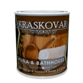 Масло Kraskovar Sauna & Bathhause для полков бани и сауны