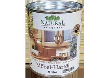 Natural Mobel Hartol твёрдое масло для древесных поверхностей, подверженных интенсивной эксплуатации