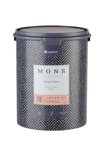 MONS INTERIOR - глубокоматовая бархатистая дизайнерская краска для безупречных интерьеров