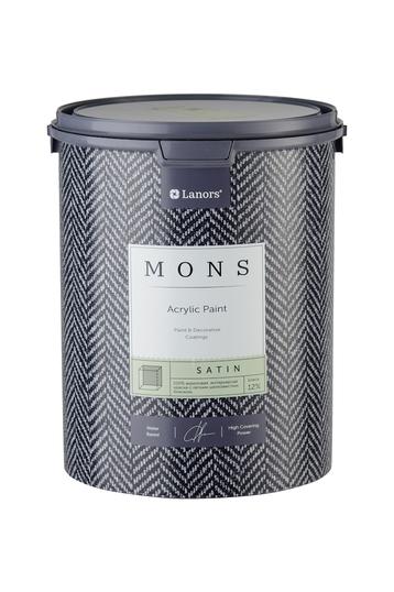 MONS SATIN - полуматовая высокопрочная дизайнерская краска с лёгким сатиновым блеском