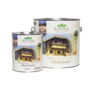 Natural Holzlasur масло-лазурь для обработки всех видов древесины, для внутреннего и наружного применения