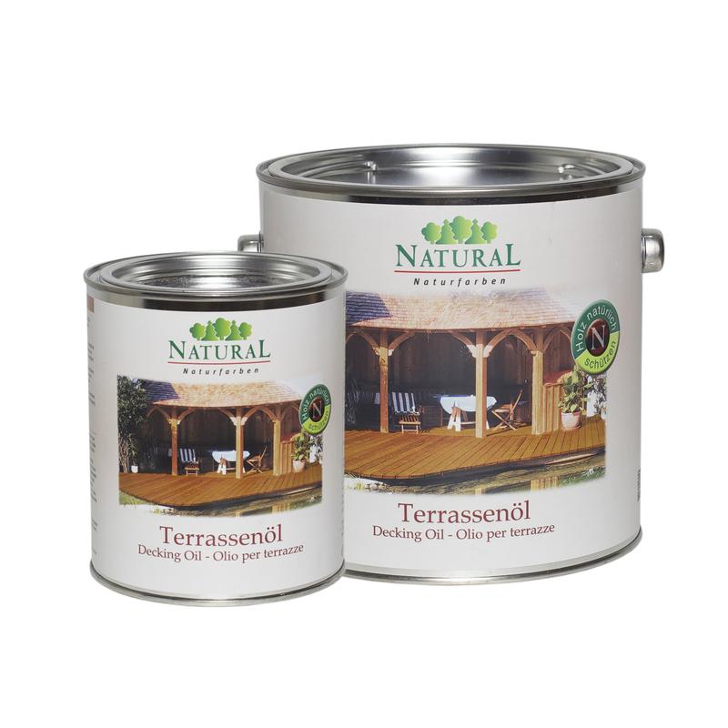 Natural Terrassenol масло для защиты и ухода за деревянными поверхностями террас и садовой мебели