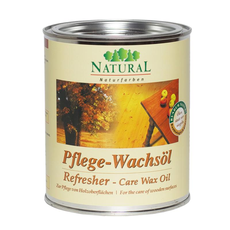 Natural Pflegewachsol масло-воск для шелковистого глянца обработанных поверхностей из древесины, камня