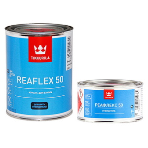 Tikkurila Reaflex 50 / Тиккурила Реафлекс эмаль для ванн