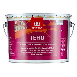 Tikkurila Teho / Тиккурила Техо краска масляная для деревянных фасадов