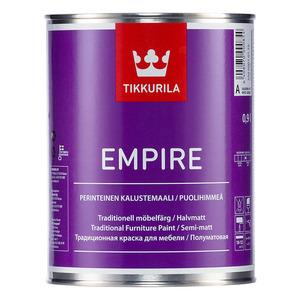 Tikkurila Empire / Тиккурила Эмпайр алкидная краска для мебели, дверей, радиаторов