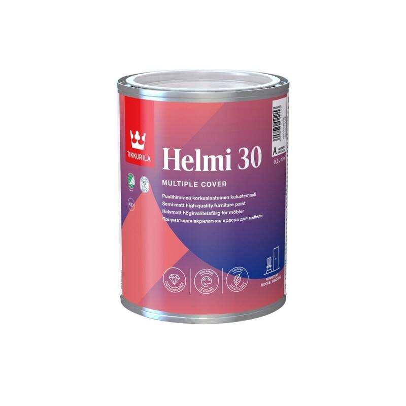 Tikkurila Helmi 30 | Тиккурила Хелми 30 эмаль для мебели акрилатная универсальная
