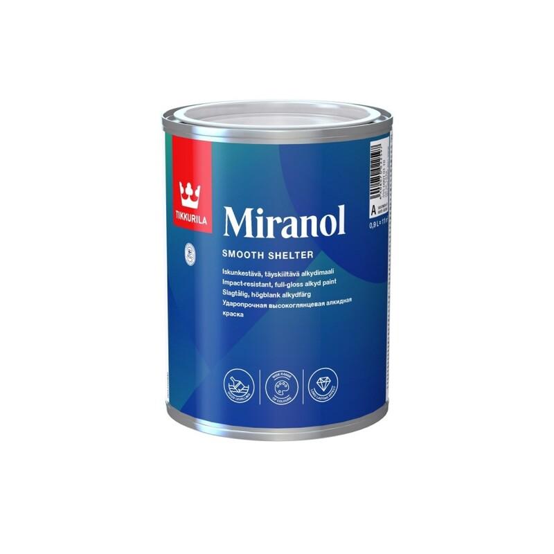 Tikkurila Miranol / Тиккурила Миранол эмаль универсальная ударопрочная