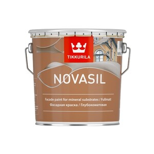 Tikkurila Novasil | Тиккурила Новасил глубокоматовая силикон-модифицированная фасадная краска