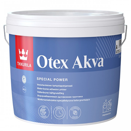 Tikkurila Otex Akva высокоадгезионная грунтовка на водной основе для сложных поверхностей