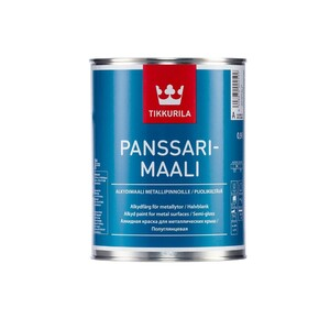 Tikkurila Panssarimaali | Тиккурила Панссаримаали эмаль для металлических крыш полуглянцевая